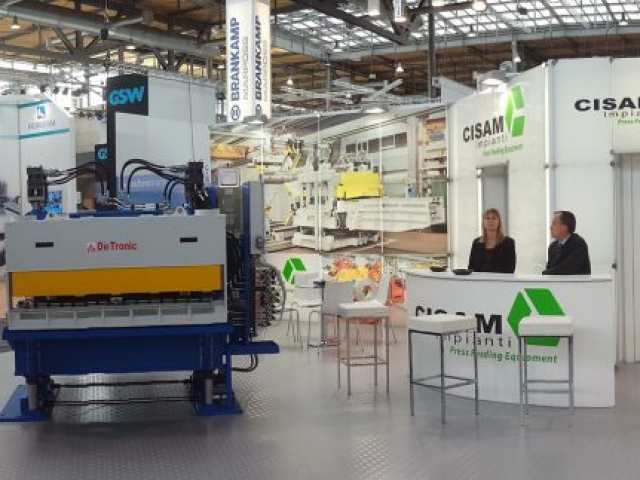 stand CISAM | euroblech Hannover