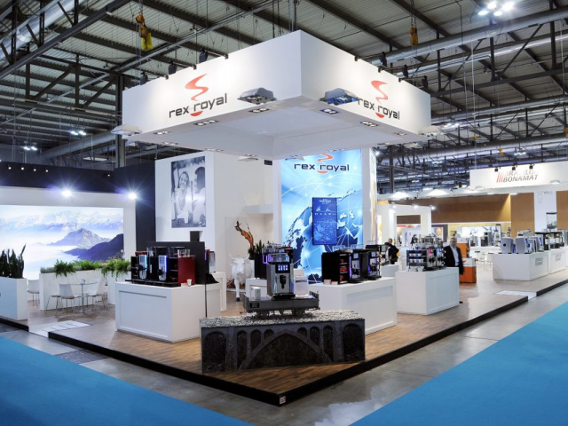 stand REX ROYAL   host Milano