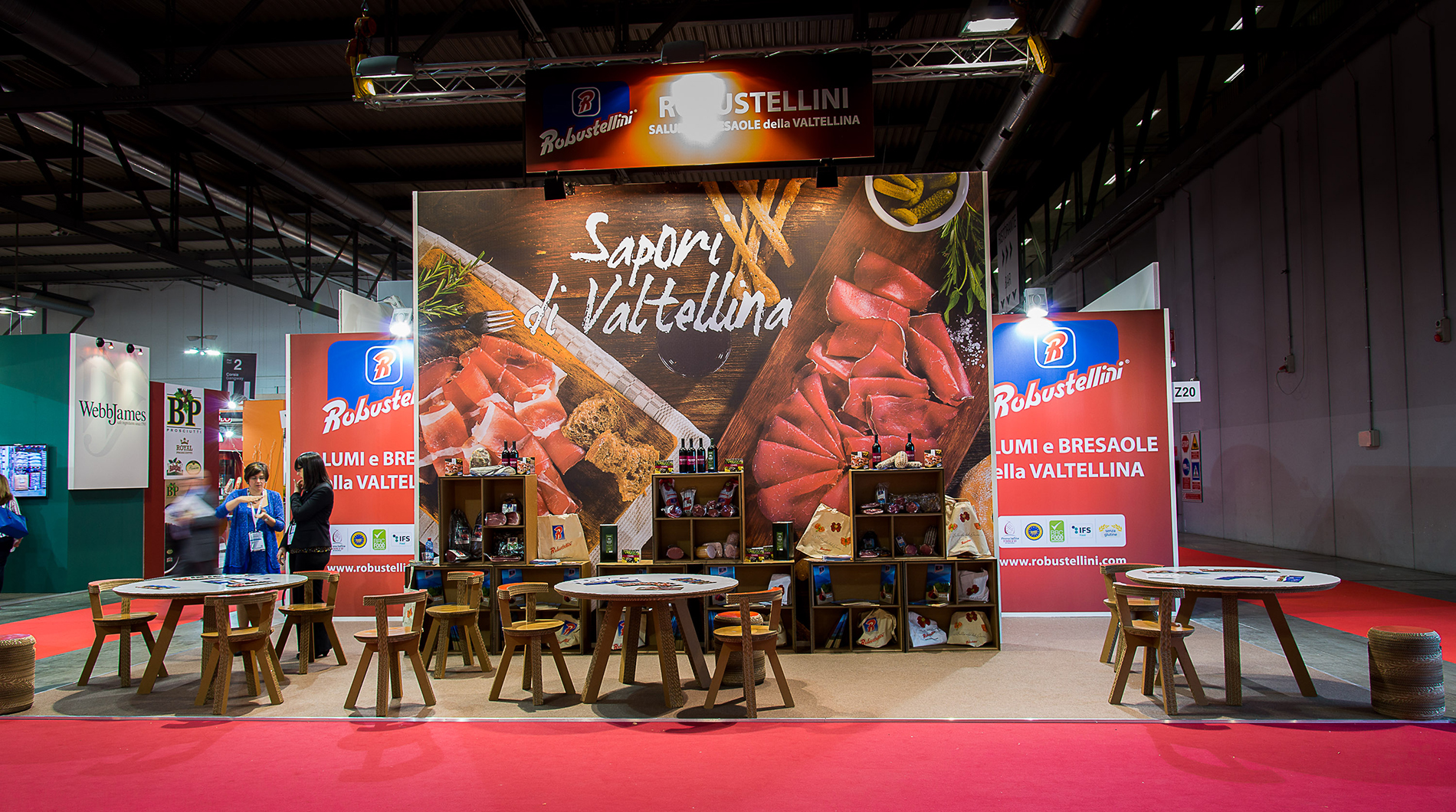 stand ROBUSTELLINI | tuttofood Milano