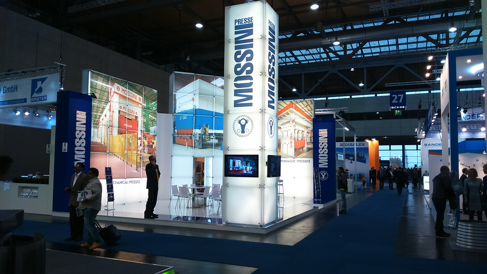 stand MOSSINI | euroblech Hannover
