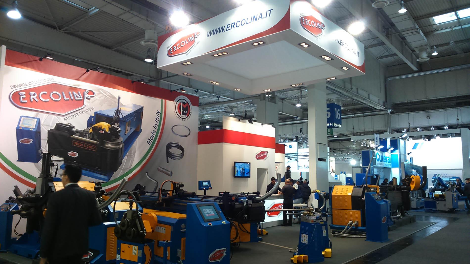 stand ERCOLINA | euroblech Hannover