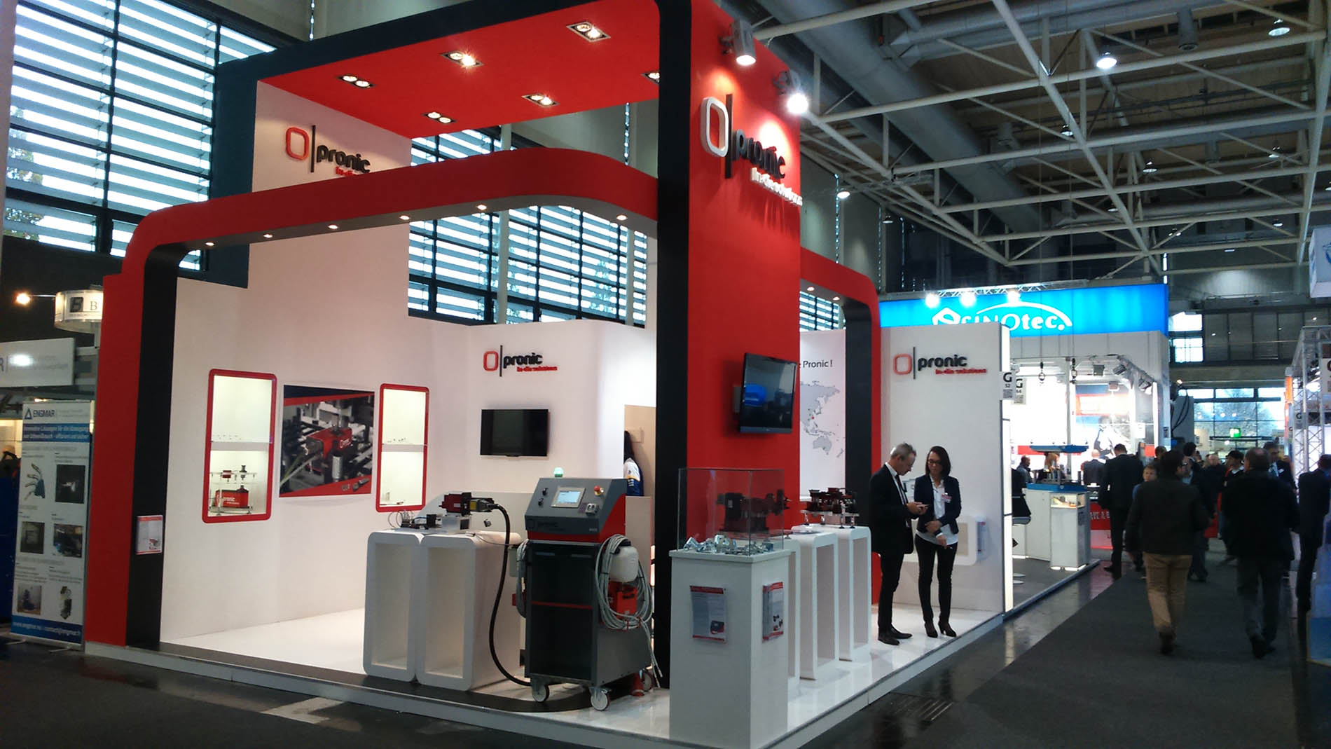 stand PRONIC | euroblech Hannover