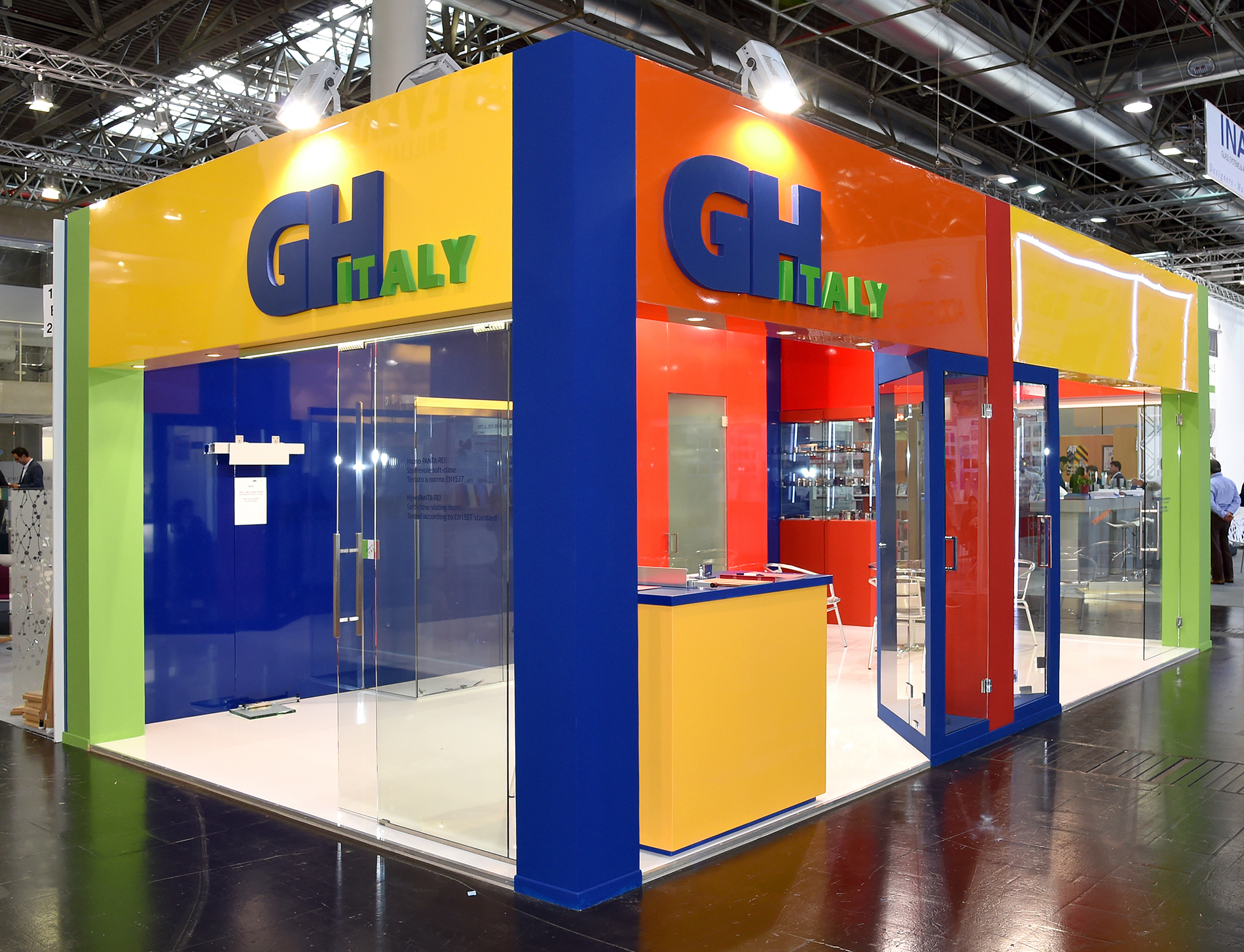 stand GH ITALY | glasstech Dusseldorf