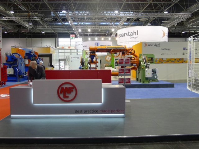 stand MFL Group | wire&tube Dusseldorf